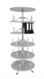 Stahlkombischränke und Drehsäulen