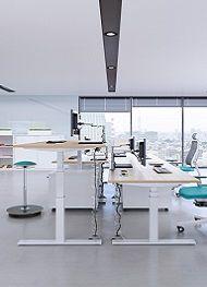 Sitz-/Steh-Schreibtische - das Beste für Ihren Rücken!