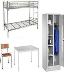 Möbel für Wohnheime und Unterkünfte