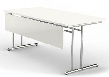 Knieraumblende Kerkmann Schreibtisch Weiß