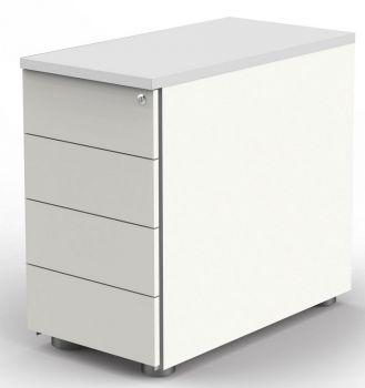 Anstell-Container mit 4 Schubladen, höhenverstellbar