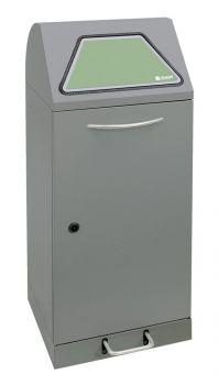 Sortsystem PSV45, Trethebel + Innenbehälter, H1000 mm / 75 L