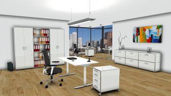 Büromöbelserie modul space