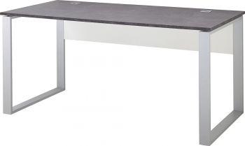 Schreibtisch mit Kufengestell