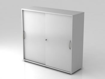 Schiebetürenschrank Serie PRO Grau 1200x1100x400 mm - Sonderpreis!