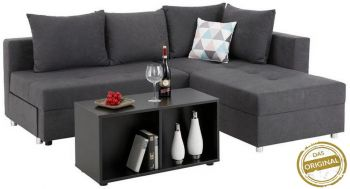 Ecksofa Madrid mit Bettfunktion
