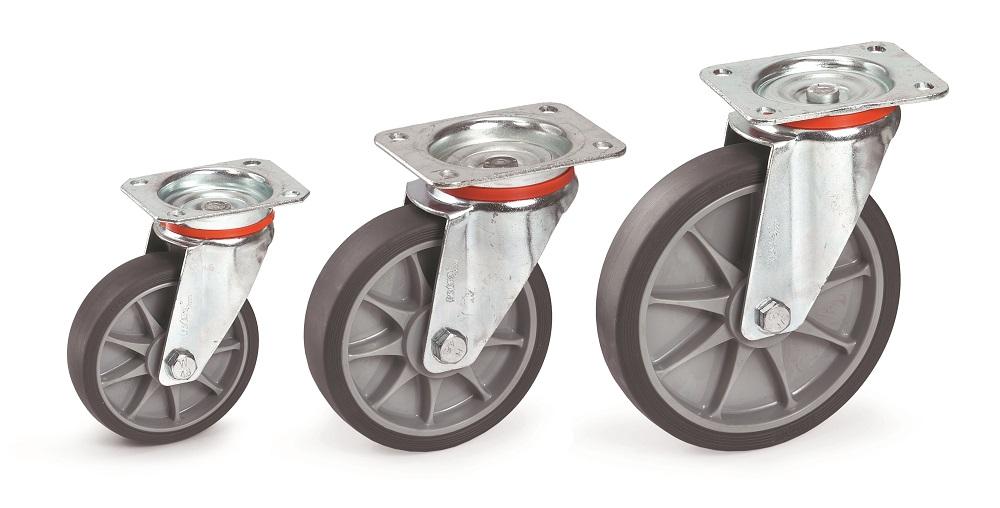 Lenkrolle Fetra 160 x 40 mm, TPE-Bereifung-P50001679