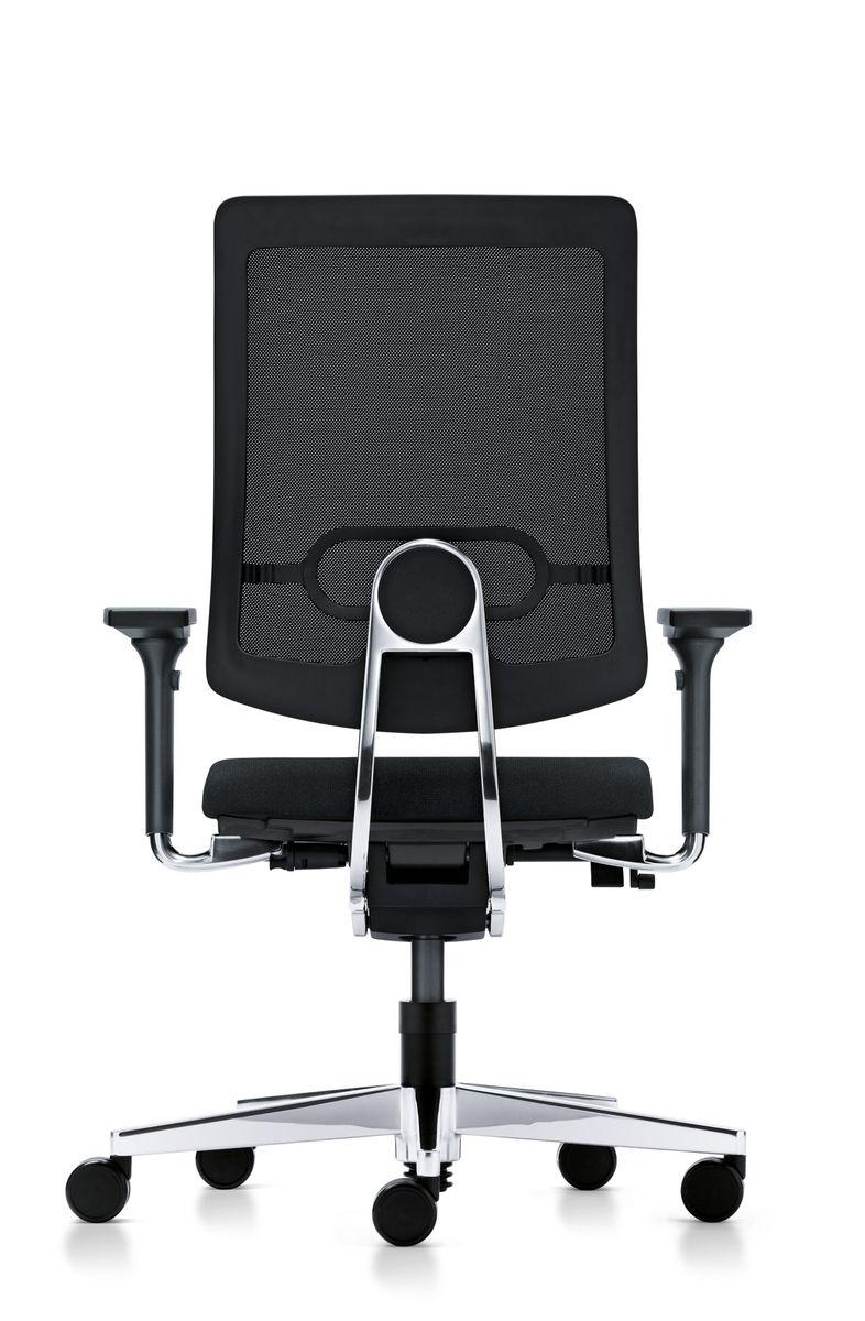 drehstuhl sedus black dot net mit armlehnen bd 122. Black Bedroom Furniture Sets. Home Design Ideas