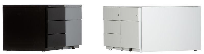 Bisley Metallrollcontainer OBA mit HR Auszug-OBA59M2EHT633
