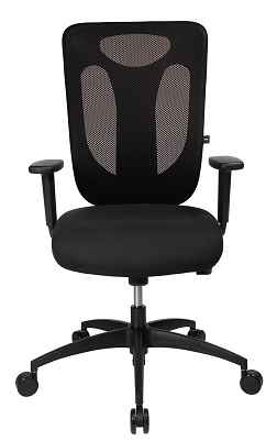 b rostuhl sitness pro net 100 mit armlehnen snn1000tb90h. Black Bedroom Furniture Sets. Home Design Ideas