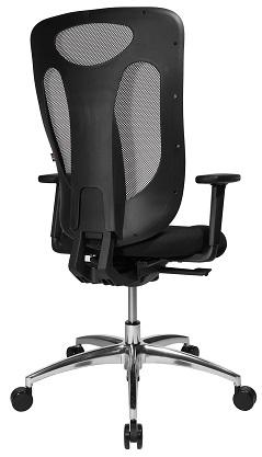 b rostuhl sitness pro net100 alu mit armlehnen snn1000900tb90h. Black Bedroom Furniture Sets. Home Design Ideas