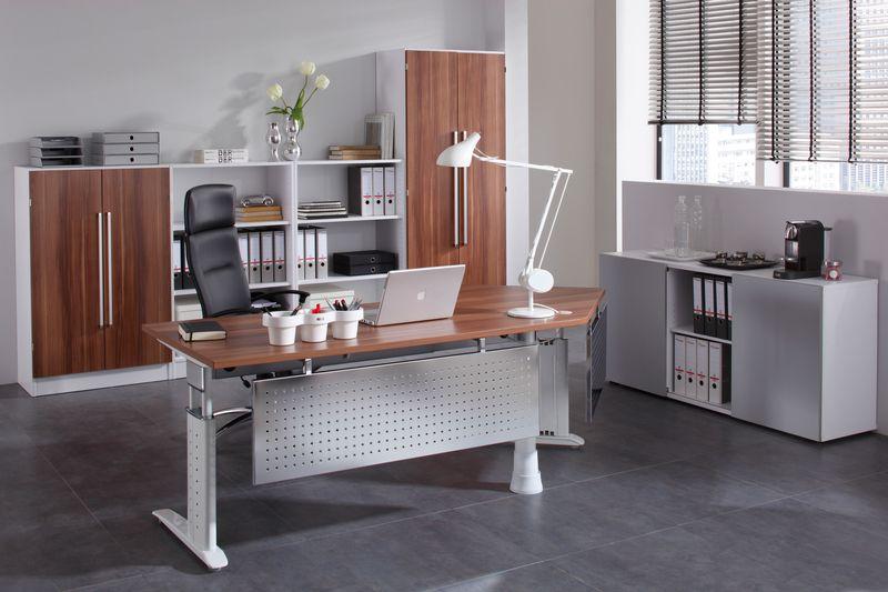 Schreibtisch serie pro5 s p5ss08 5 for Sideboard zwetschge