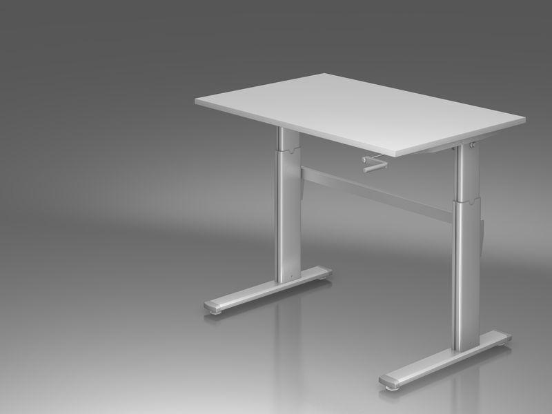 sitz steh schreibtisch serie pro11 p11sxk12 5. Black Bedroom Furniture Sets. Home Design Ideas