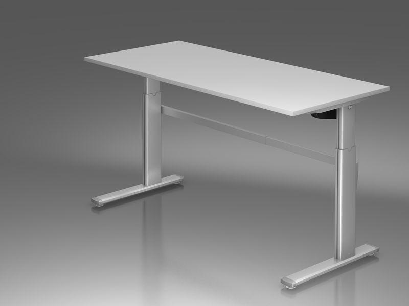 sitz steh schreibtisch serie pro10 p10sxm19 5. Black Bedroom Furniture Sets. Home Design Ideas