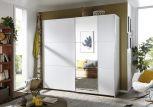Schwebetürenschrank Santiago 2türig mit Spiegel Premium