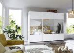 Schwebetürenschrank Quito 3türig mit Spiegel Premium