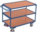 Leichter Tischwagen Cordes mit 3 Ladeflächen