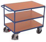Schwerer Tischwagen Cordes mit 3 Ladeflächen