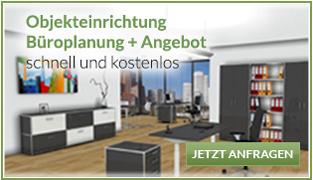 Hochwertige Büroplanung schnell und kostenlos